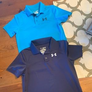 Boys Under Armour Polo shirts